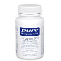 Pure Encapsulations Curcumin 500 Bioperine (60 veg caps)