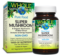 Whole Earth & Sea Super Mushroom (60 veg caps)
