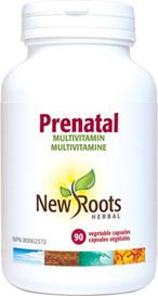 New Roots Prenatal Multi Vitamin (90 veg caps)