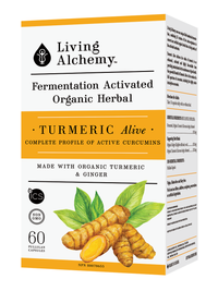 Living Alchemy Turmeric Alive (60 caps)