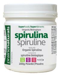 Prairie Naturals Organic Spirulina Powder (200 g)