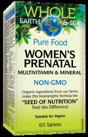 Whole Earth & Sea Multivitamin & Mineral Women's Prenatal (60 tabs)