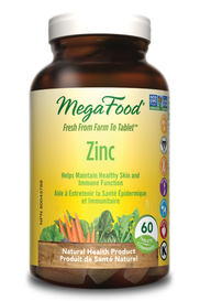 Mega Food Zinc (60 tabs)