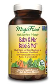 Mega Food Baby & Me (120 tabs)