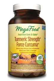 Mega Food Turmeric Strength (60 tabs)