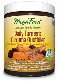 Mega Food Daily Turmeric Nutrient Booster Powder (59.1 g)