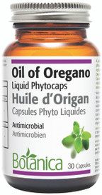 Botanica Oregano Oil Liquid Phytocaps (Choose Capsule Size)