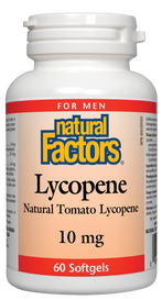 Natural Factors Lycopene 10 mg (60 softgels)