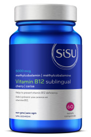 SISU B12 Sublingual 5000mcg (60 tabs)