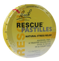 Bach Rescue Pastilles Orange & Elderflower (50 g)