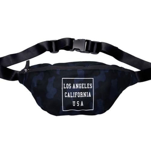 camo navy bags la camo hip sack cross body bag navy camo
