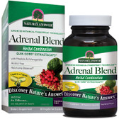 Adrenal Blend 90 Caps Nature's Answer, Stress