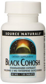 Black Cohosh Extract 120 Tabs, Source Naturals