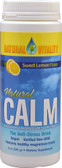 Natural Calm Lemon 8 oz Natural Vitality, Stress