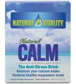 Calm Regular Flavor Packets 30 PKT Natural Vitality, Stress