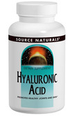 Hyaluronic Acid 100 mg 30 Tabs, Source Naturals