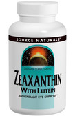 Zeaxanthin Lutein 10 mg 60 Caps, Source Natur, Vision