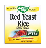 Red Yeast Rice, 60 vCaps, Nature's Way, Cardiovascular