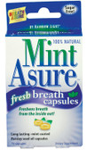 Mint Asure 75 Caps Rainbow Light, Long Lasting Breath Freshener