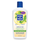 Shower Gel Early To Rise 16 oz, Kiss My Face