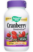 Cranberry Extract 120 vCaps Nature's Way - Bladder