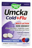 Umcka Cold & Flu Berry 20 chews Nature's Way, Colds, Flu
