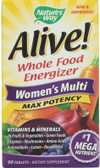 Alive! Women's Multi Max Potency 90 Tabs, Nature's Way