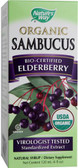 Organic Sambucus 4 fl oz Nature's Way, Flu & Colds