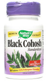 Black Cohosh Standardized 60 Tabs Nature's Way, PMS, Perimenopause
