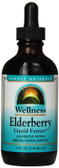 Wellness Elderberry Extract 4 fl oz, Source Naturals