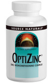 OptiZinc Zinc Monomethionine 30 mg 240 Tabs Source Naturals, Reproductive Organs, Prostate