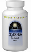 Feverfew Extract 100 Tabs Source Naturals, Migraines