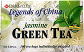 Legends of China Jasmine Tea 100 ct Uncle Lee's Teas