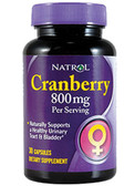 Cranberry Extract 400 mg 30 Caps Natrol