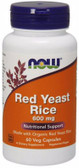 Red Yeast Rice Extract 600 mg 60 vCaps, Now Foods