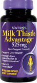 Natrol Milk Thistle Advantage 60 Tabs, Liver Health