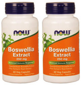 2-Pack Of Boswellia Extract 250 mg 60 Caps, Now Foods