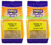 "2-Pack Of Healthy Foods Double ""00"" Vcaps 750 Empty Vcaps, Now Foods"