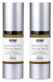 2-Pack Of Solutions Hyaluronic Acid Firming Serum 1 oz (30 ml), Now Foods