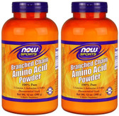 2-Pack Of Sports Branched Chain Amino Acid Powder 12 oz (340 g), Now Foods
