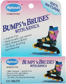 Children's Bumps 'n Bruises w/Arnica 125 Tabs, Hylands