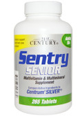 Sentry Senior Multivitamin & Mineral Supplement Adults 50+ 265 Tabs, 21st Century Health Care