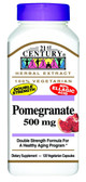 Pomegranate 500 mg 120 Veggie Caps, 21st Century Health Care