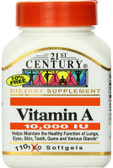 Vitamin A 10000 IU 110 sGels, 21st Century Health Care