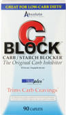 C Block Carb / Starch Blocker 90 Caplets, Absolute Nutrition