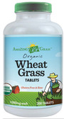 Organic Wheat Grass Tabs 1000 mg 200 Tabs, Amazing Grass