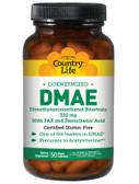 DMAE Coenzymized 350 mg 50 Veggie Caps, Country Life