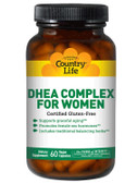 DHEA Complex For Women 60 Veggie Caps, Country Life