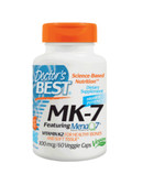 MK-7 Featuring MenaQ7 Natural Vitamin K2 100 mcg 60 Veggie Caps, Doctor's Best
