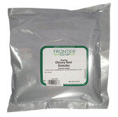 Certified Organic Roasted Chicory Root Granules 16 oz (453 g), Frontier Natural Products